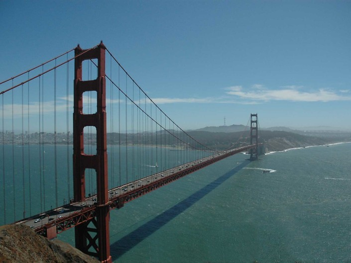 The golden bridge